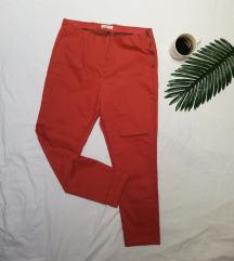 Calliope pantalone boje cigle (visok struk) L/XL