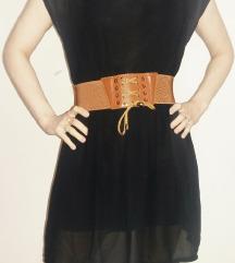 Crna letnja haljina AKCIJA