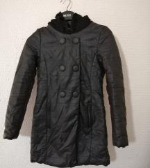 Kozna jakna sa kapuljacom