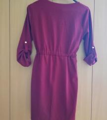 Bordo haljina NOVO