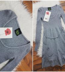 Trendy wendy M pletena haljina NOVO