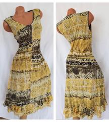 BONITA ✿ maxi haljina od oslikane mreže L/XL