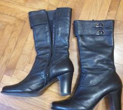 Kozne cizme crne SNIZENE 2000 din
