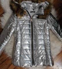 Nova jakna S/M srebrna