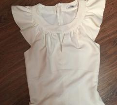 AKCIJA! NOVA Fervente bela haljina sa karnerima
