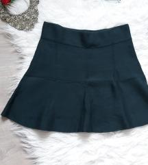 Zelena suknja sa lastisem