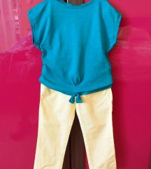 Benetton pantalone i majica vel 3-4
