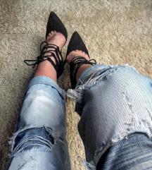 Teget plave cipelice