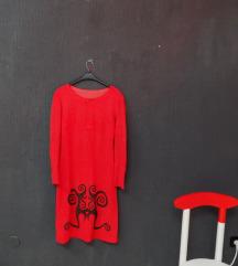 maternity ► tribal crvena haljina M