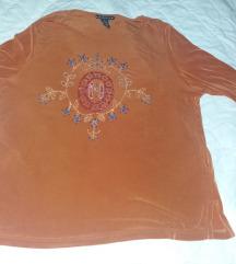 Bluza od likre za puniju damu