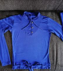 Kraljevsko plava bluza