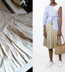 Gianni Ballanti vintage lanena suknja