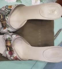 Original GUCCI cvetne papuče 38C