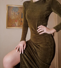 Duga haljina sa slicem