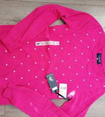 Us Polo Assn rozi dzemper original sa etiketom S