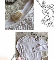 Elegantna bela bluzica, dečija