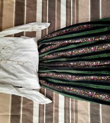 Suknja sa radom i bluza ZARA M/L