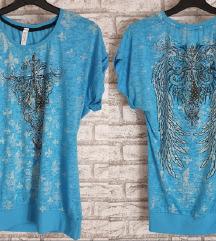 NOVA Svetlo plava majica L/XL