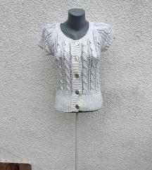 H&M bela džemper majica