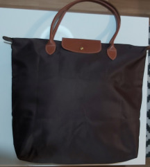 Longchamp velika braon torba SNIZENO