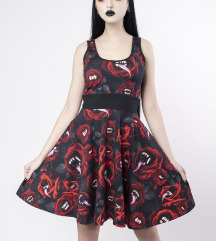 Divine Comedy Skater Dress Killstar XS