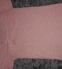 zenska roza majica na kratke rukave