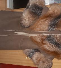 Alpaca kaput sa prebogatim krznom
