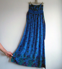 Maxi haljina sa vezom M-L