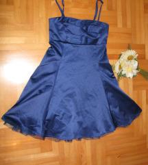 Svecana kraljevsko-plava haljina NOVA