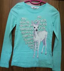 AKCIJA- H&M dukserica za devojčice - lane