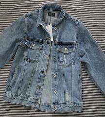 Rezz Mohito teksas jakna sa printom, vel. 34