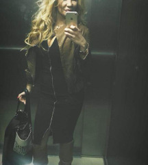Happy store crna haljina