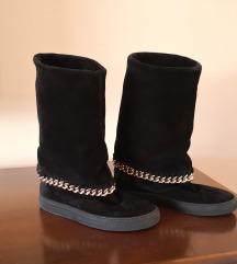 Kožne italijanske čizme, broj 37