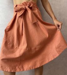 COS midi suknja sa mašnom NOVO