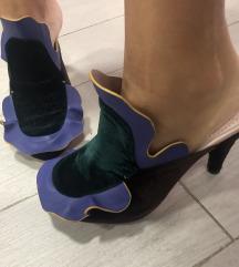 FENDI - leather mules