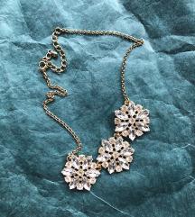 elegantna ogrlica sa cirkonima ❄️
