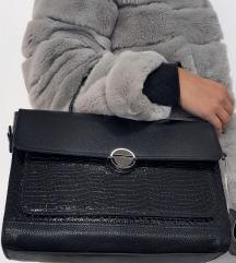 Elegantna, kozna torba