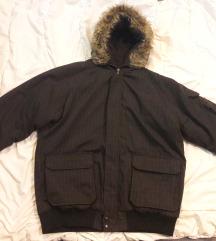 Zimska jakna sa krznom vel. XL