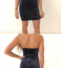 Velvet korset haljina