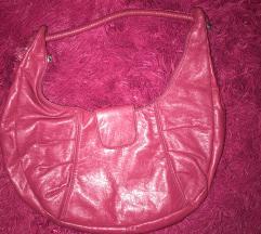 Pink ciklama torba