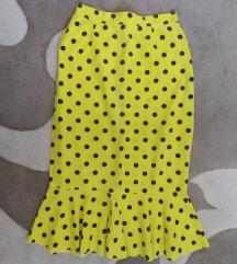 Retro suknja na tufne S/M