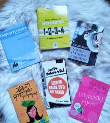 Knjige Bukowski, Dostojevski, Dzudi Blum...