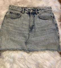 Mini teksas suknja