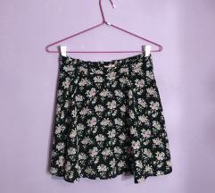 Bershka cvetna suknjica