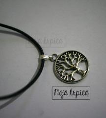 Drvce života ogrlica