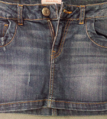 Kratka teksas suknjica