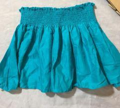 Plava suknja za devojcice