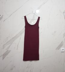 MbyM basic bordo haljina