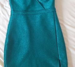 Herve leger zelena haljina