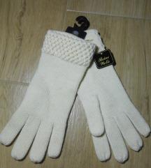 Prelepe bež rukavice - čista vuna